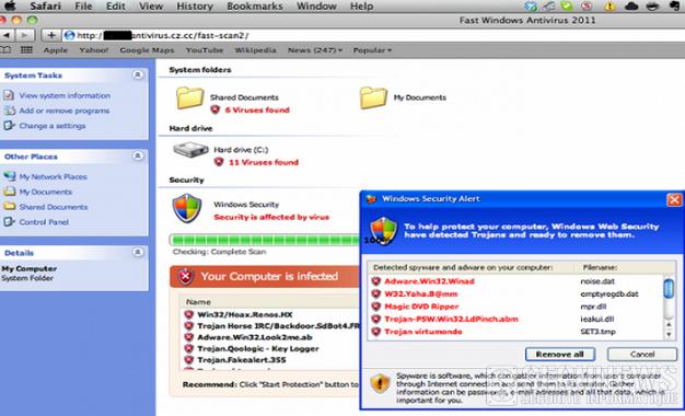 Mac Protector une menace pour les utilisateurs Mac