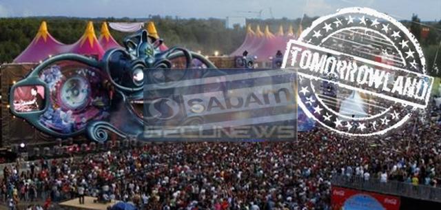 Le festival belge Tomorrowland en conflit avec la Sabam