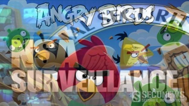 La NSA a utilisé Angry Birds pour espionner les smartphones