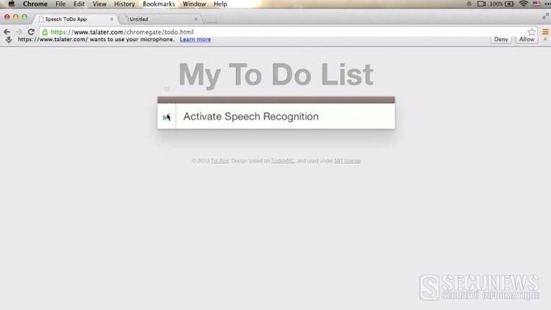 Une faille de Google Chrome permet d'écouter les internautes à leur insu