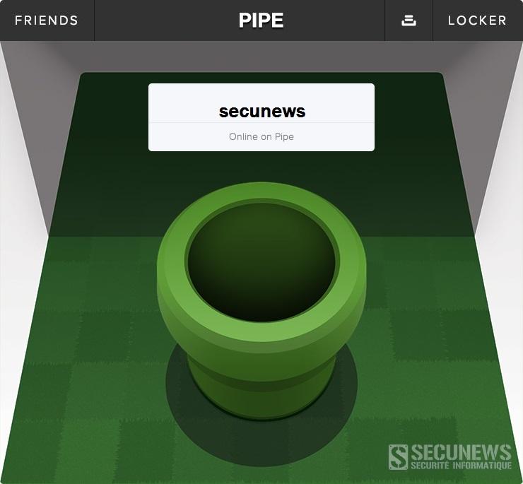 Pipe, nouvelle application pour s'échanger des gros fichiers sur Facebook