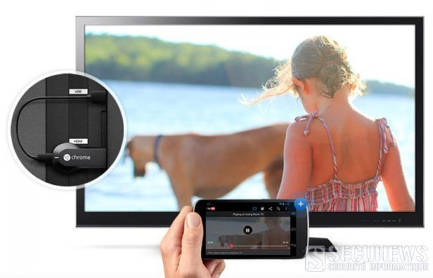 Google lance Chromecast en Europe, sauf en Belgique