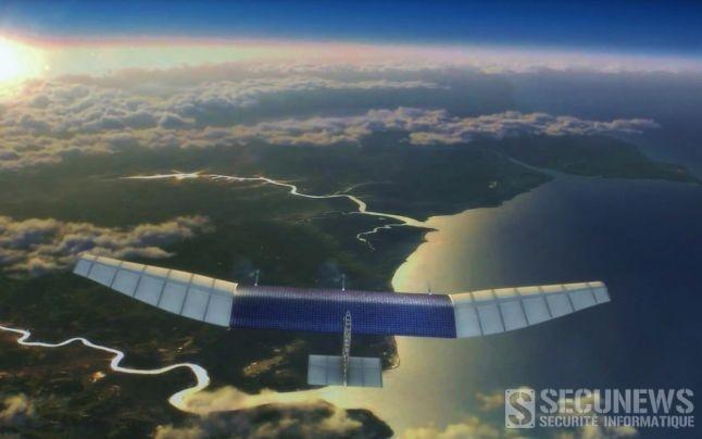 Facebook veut connecter le monde à Internet grâce à des drones