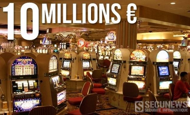 Ils font sauter la banque de plusieurs casinos grace à une faille informatique