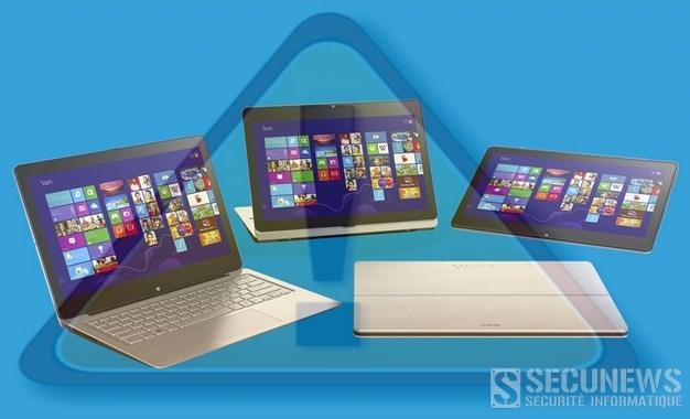 Sony demande d'arrêter d'utiliser les PC portables Vaio Fit 11A