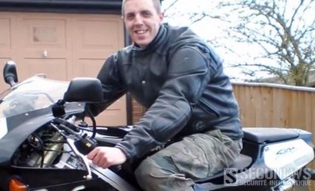 Les images d'un accident de moto publiées pour une campagne de sécurité routière