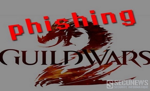 Phishing et vol d'objets, ciblant les joueurs de Guild Wars 2