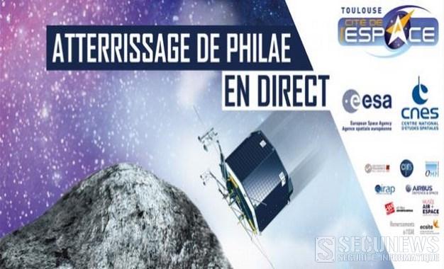 [MAJ]Atterrissage de la sonde Philae sur la comète 67P/Churyumov-Gerasimenko ( en direct sur internet 15h30)