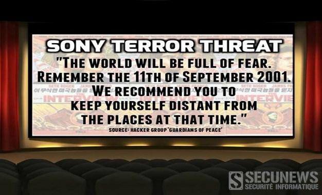 (MAJ) Face aux menaces d'attentat par des pirates, Sony annule la sortie américaine du film The Interview