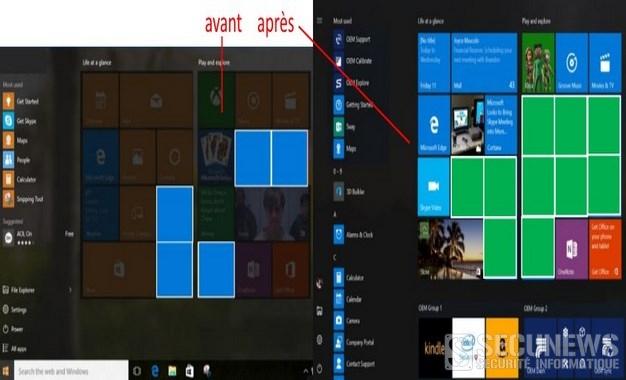 Microsoft va doubler le nombre de pubs sur le menu de Windows 10